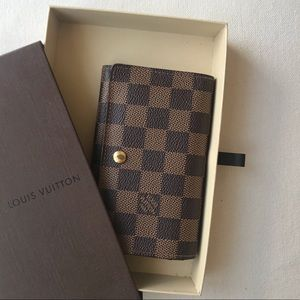 Louis Vuitton Damier Cloth Wallet